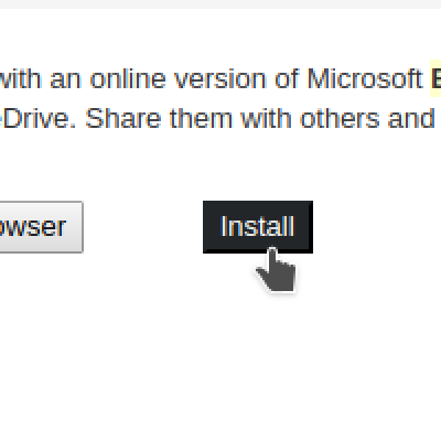 The new way to install online applications